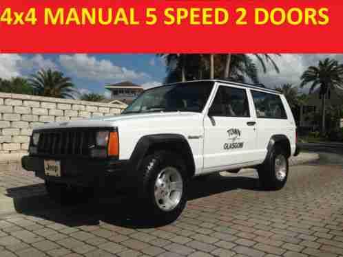 2 door manual cherokee xj for sale