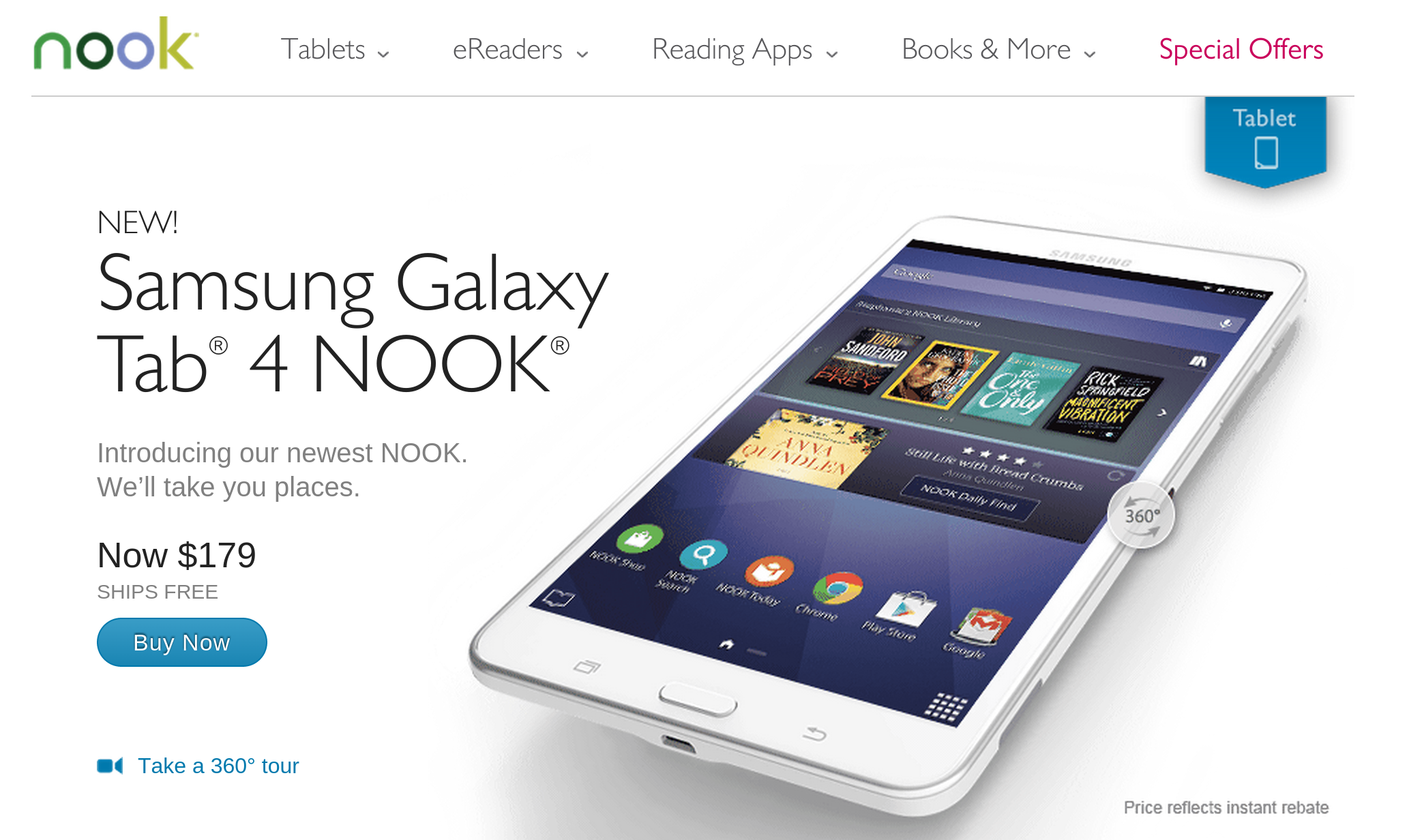 samsung galaxy tab 4 nook user manual