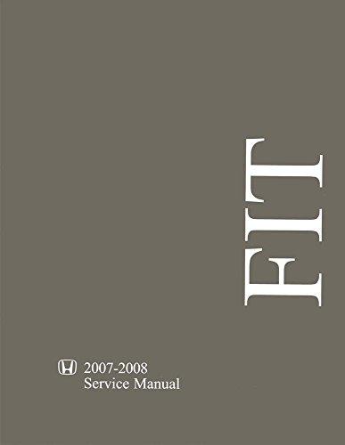 2007 honda fit service manual