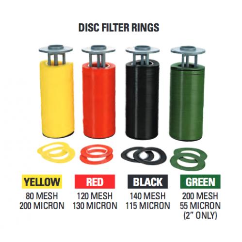 netafim 2 inch manual disk filters