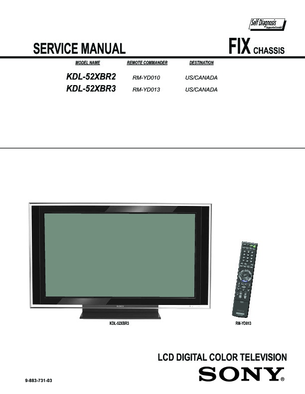 sony tv service manuals free download
