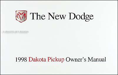 1994 dodge dakota owners manual pdf