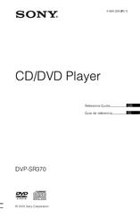 sony dvp sr370 user manual