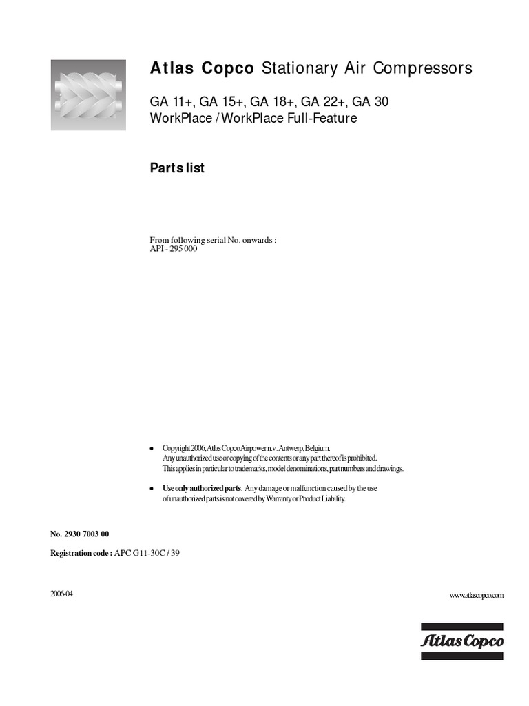 atlas copco ga15 service manual pdf