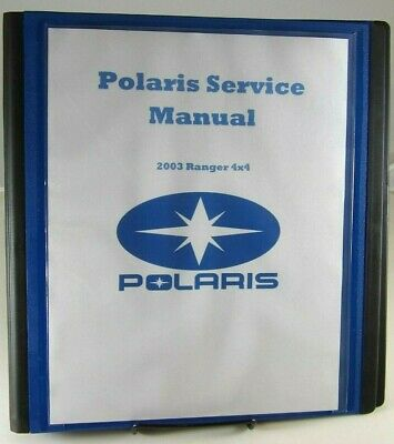 2003 polaris ranger service manual