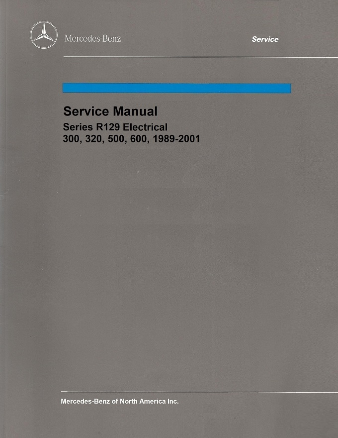 mercedes r129 service manual download