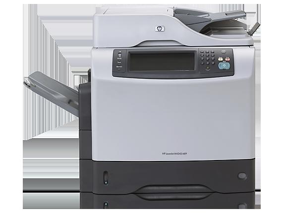 hp laserjet m4345 mfp user manual