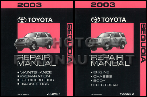 2003 toyota sequoia service manual