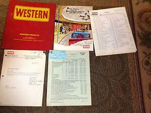 western snow plow owners manual