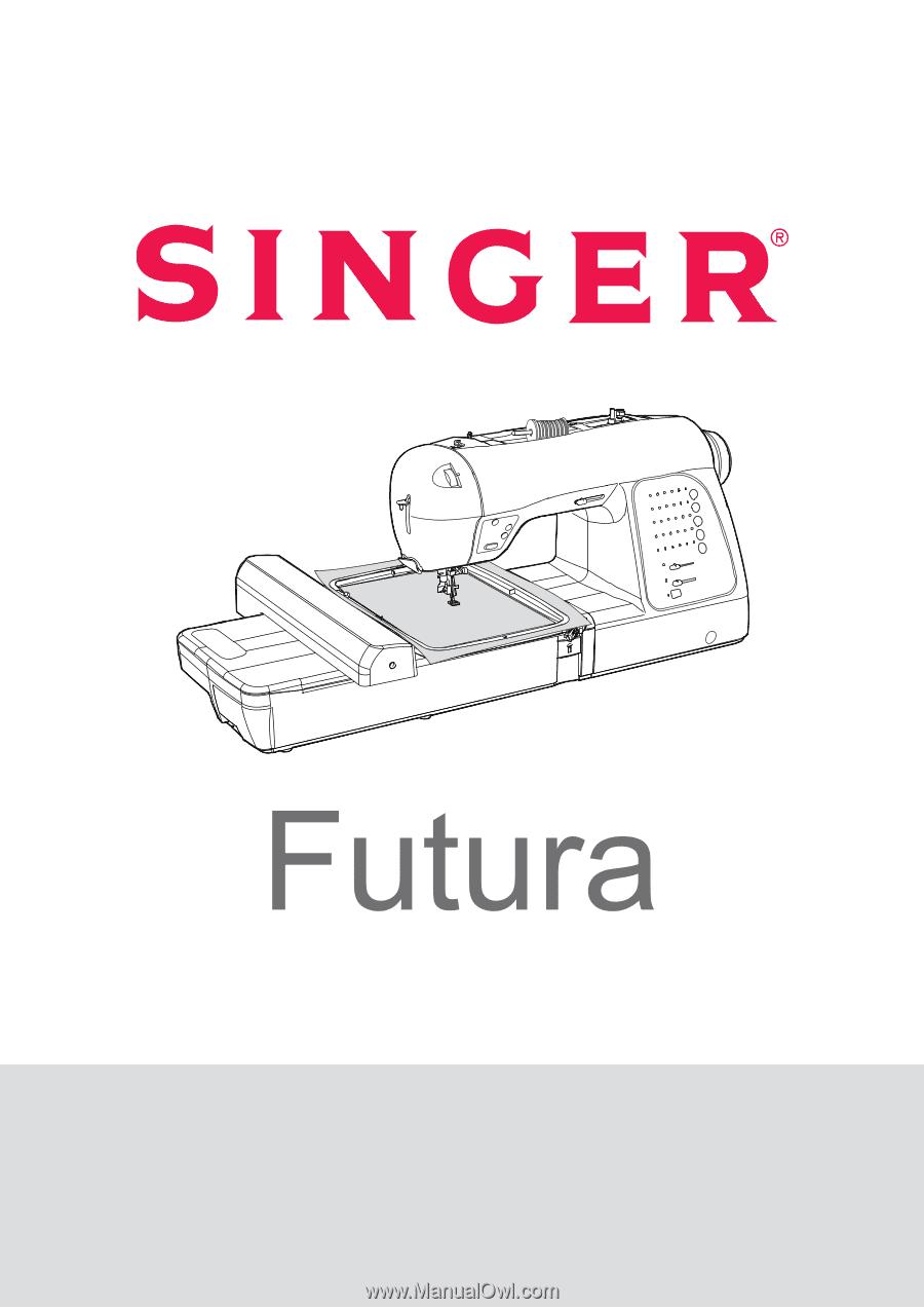 singer futura xl 400 user manual