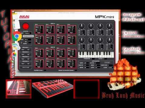 akai mpk mini mk2 user manual
