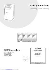 frigidaire portable air conditioner user manual