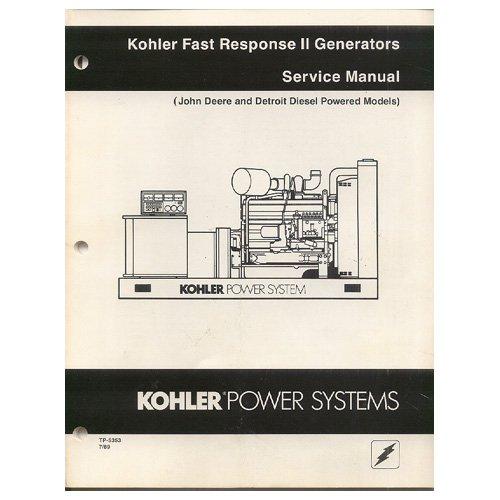 kohler generator service manual pdf