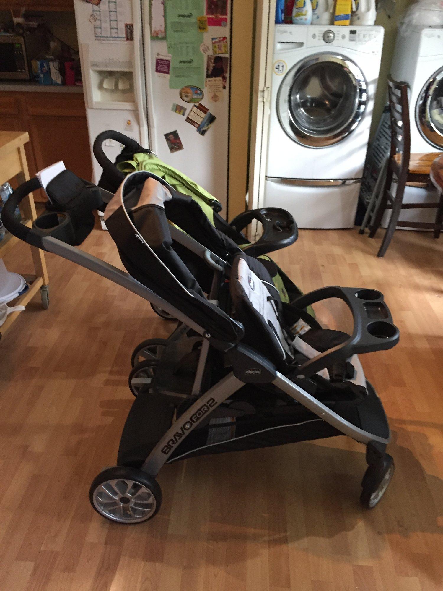 chicco bravo for 2 stroller manual