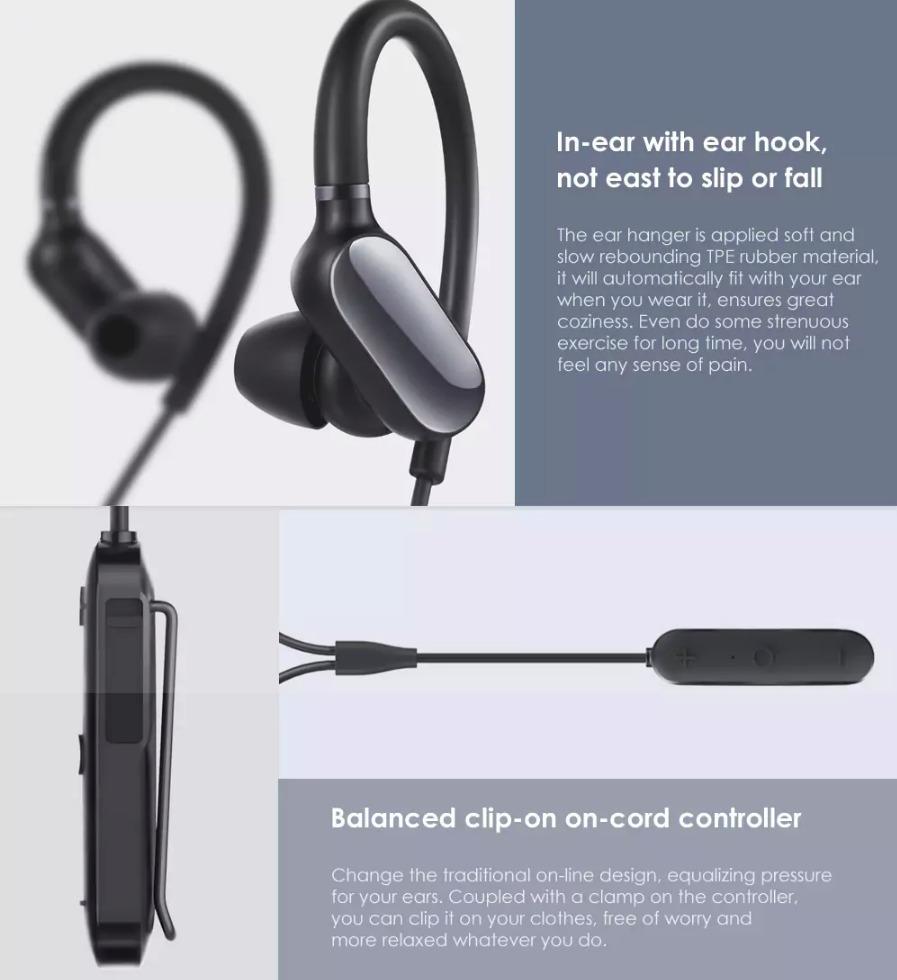 mi sport bluetooth headset user manual