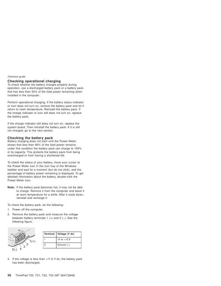 ibm thinkpad t23 service manual