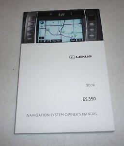 2009 lexus es 350 owners manual pdf