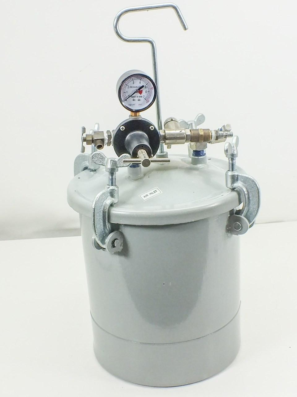 binks 2 gallon pressure pot manual