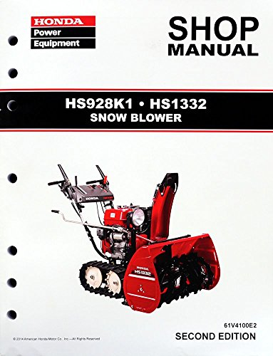 honda 622 snowblower service manual
