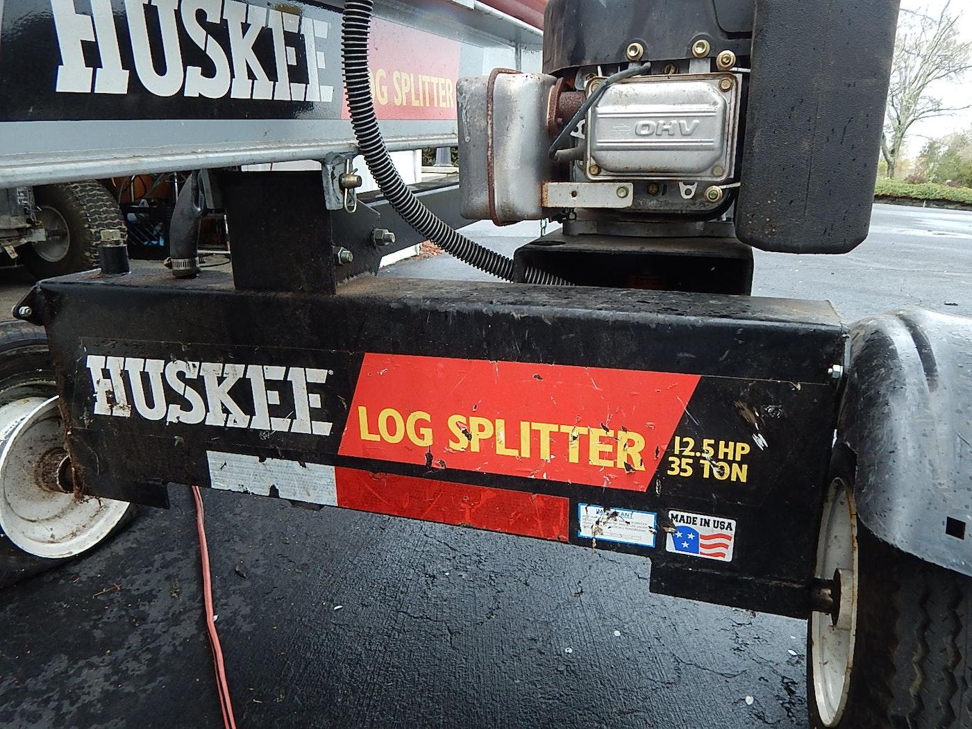 huskee 35 ton log splitter owners manual