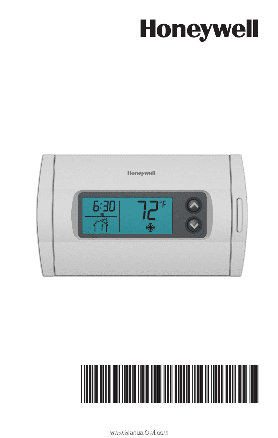 honeywell thermostat rth2300b1012 user manual
