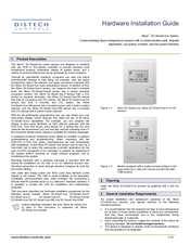 distech controls thermostat user manual