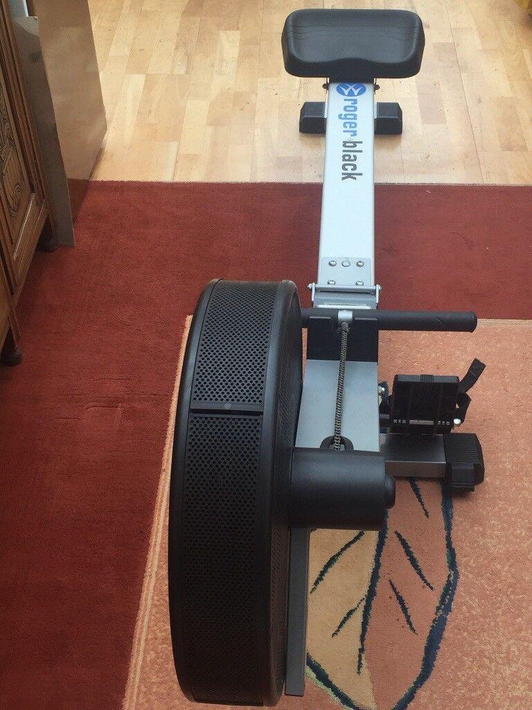 roger black air rowing machine user manual