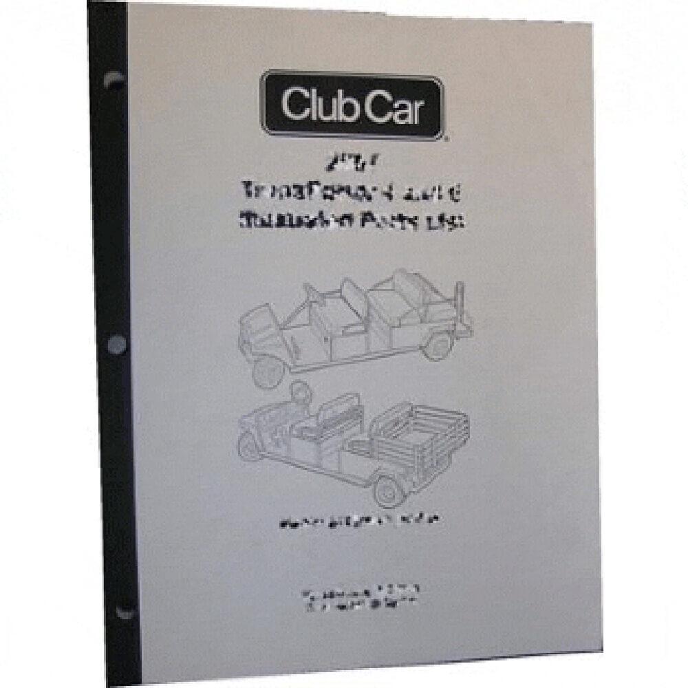 2004 club car precedent service manual