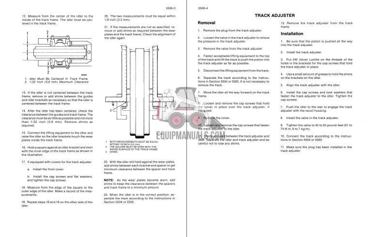 case 650l dozer service manual