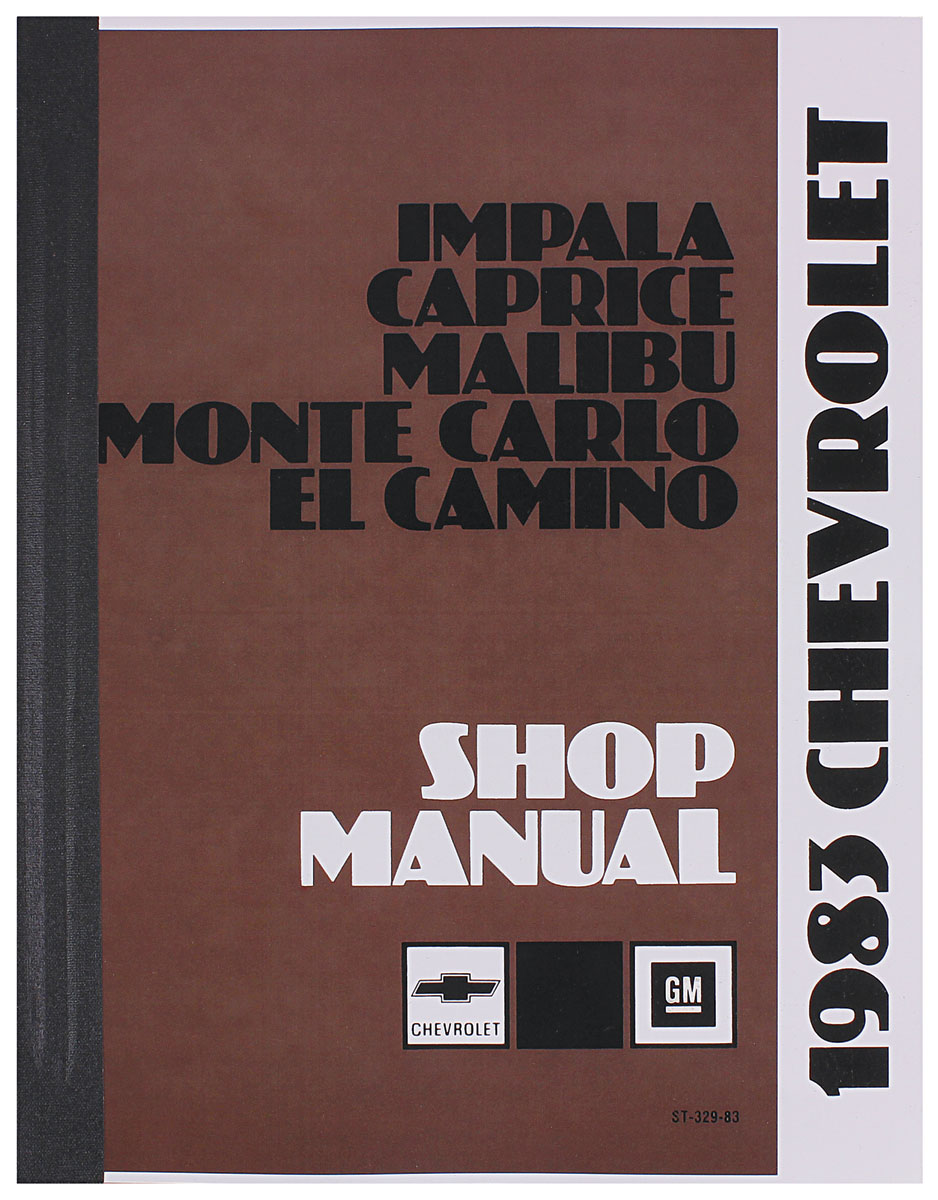 1985 el camino owners manual