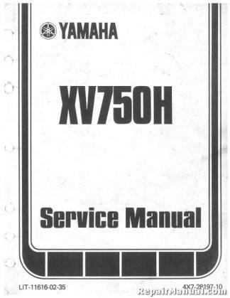 1982 yamaha towny owners manual