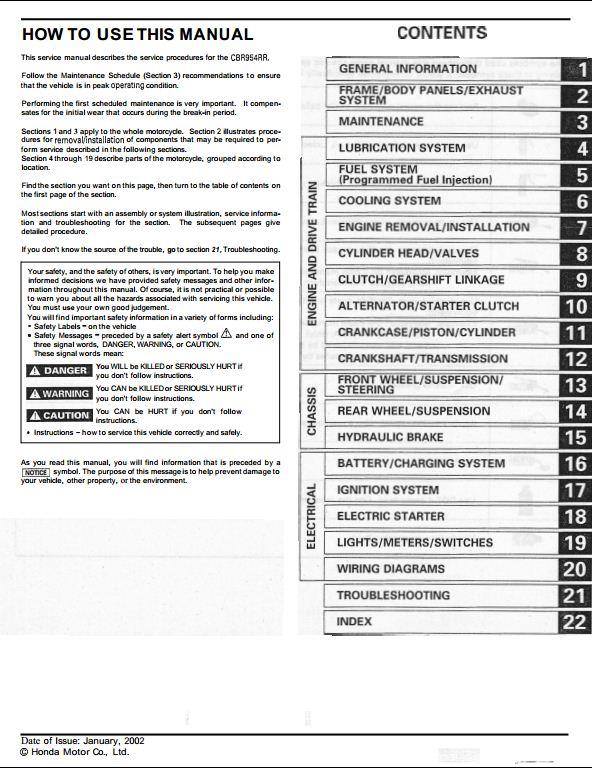 2002 honda cbr954rr service manual