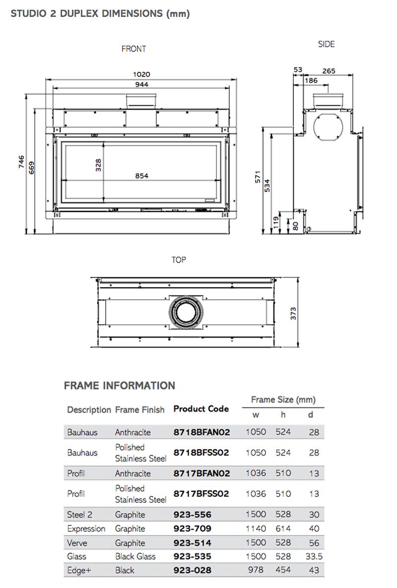 gazco studio 2 duplex manual