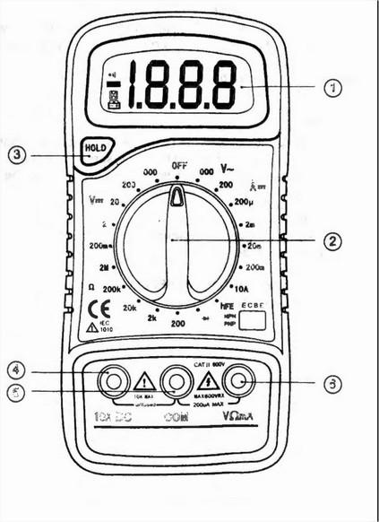 digital multimeter user manual pdf