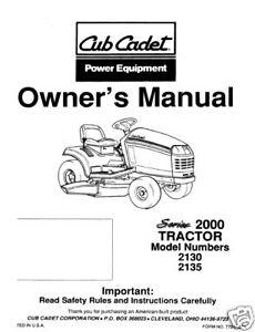 cub cadet 1027 owners manual