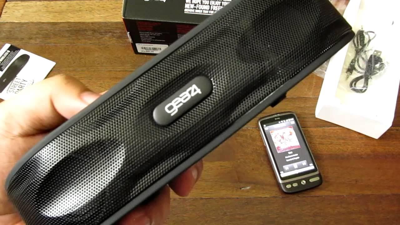 gear4 streetparty wireless 2 manual