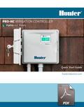hunter pro hc owners manual