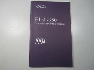 94 ford f150 owners manual