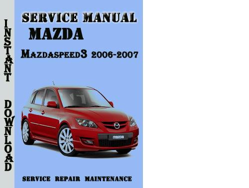 2006 mazda 6 service manual download
