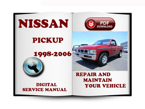 1997 nissan pickup service manual