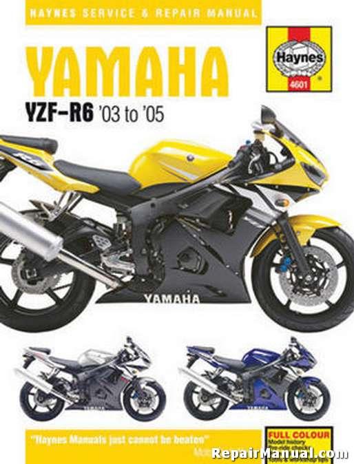 2004 yamaha r6 owners manual