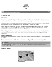 2008 volvo s80 owners manual