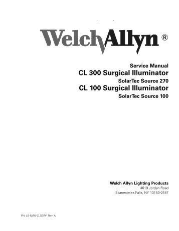 welch allyn 9600 plus service manual