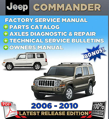 06 jeep commander owners manual