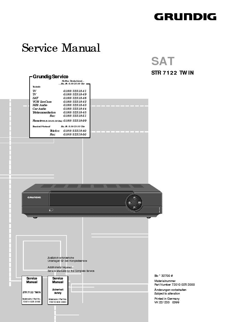 grundig yacht boy 400 user manual