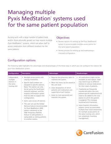pyxis medstation es user manual