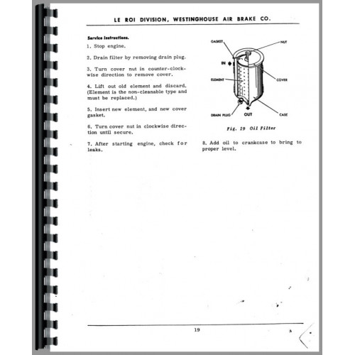 air compressor service manual pdf