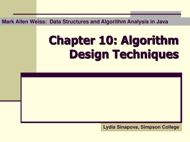 algorithm design manual solutions chapter 2