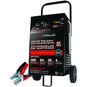 schumacher battery charger portable 12v 6 2 amp manual