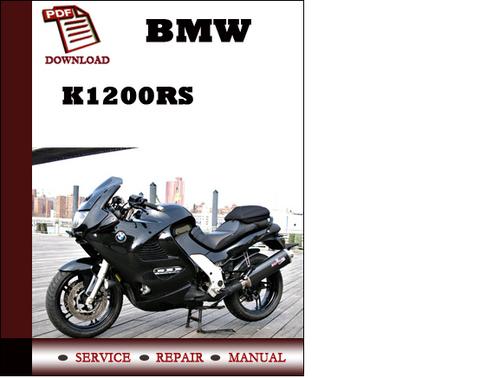 bmw k1200rs owners manual pdf